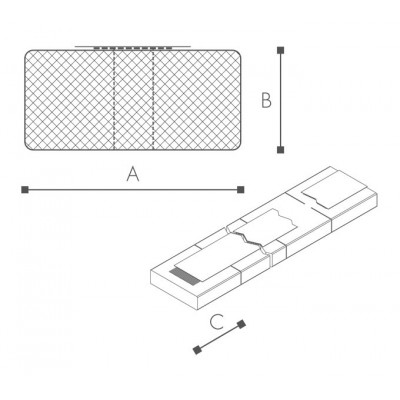 Profil Pad Rectangular
