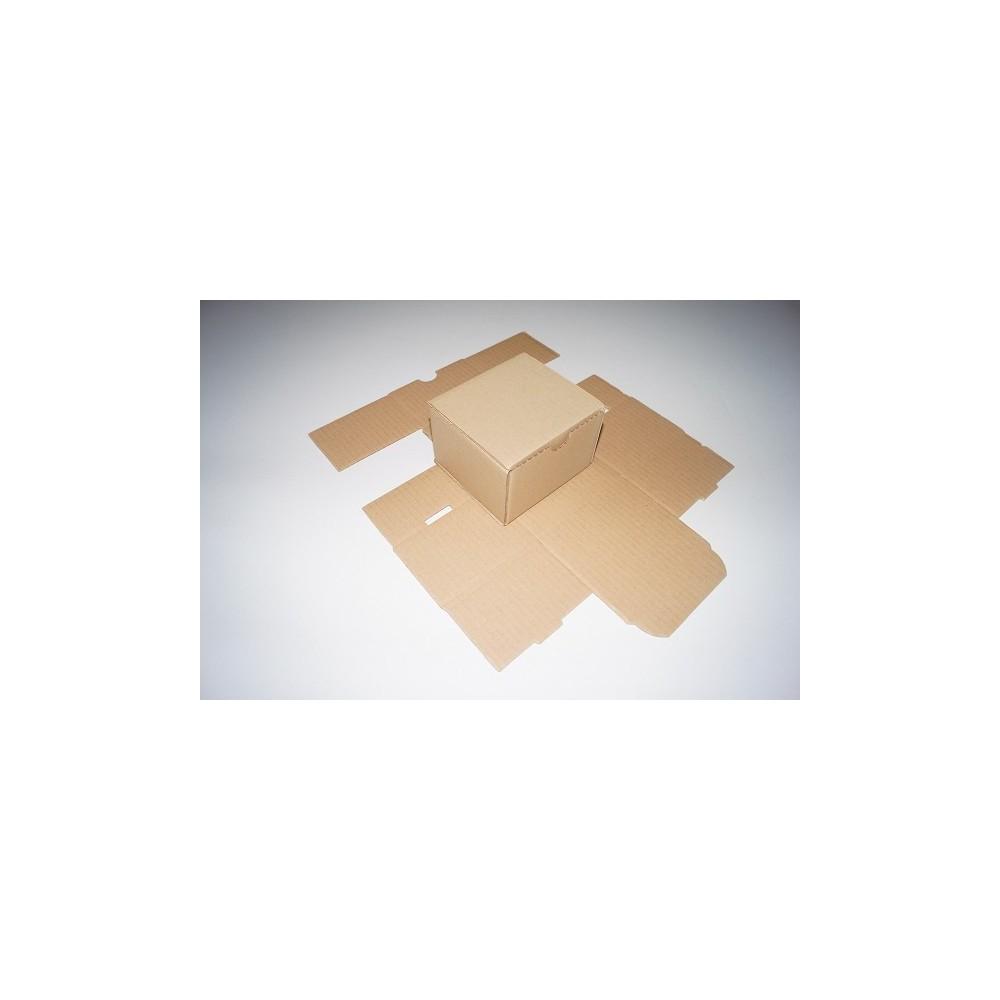 Opakowanie fasonowe 105 x 105 x 70 Brązowy