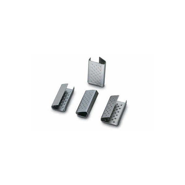 Zapinki blaszane - 16 mm (2500 szt.)