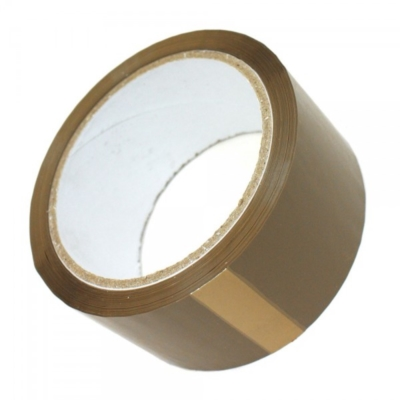 Taśma pakowa akrylowa - brązowa 48 mm / 66 Y