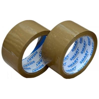 Taśma pakowa SMART akrylowa 48 mm/ 60 Y - brąz
