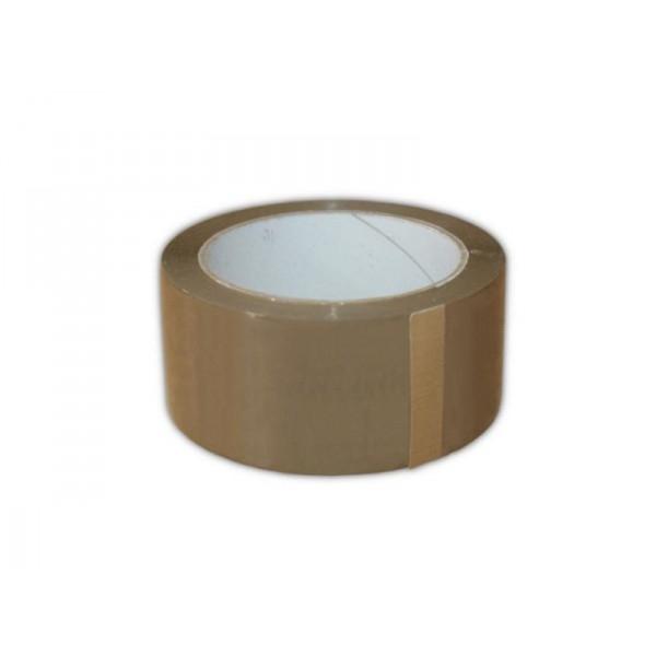 Taśma pakowa Hot - Melt 48 mm/ 66 m - brąz