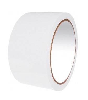 Taśma pakowa akrylowa - biała