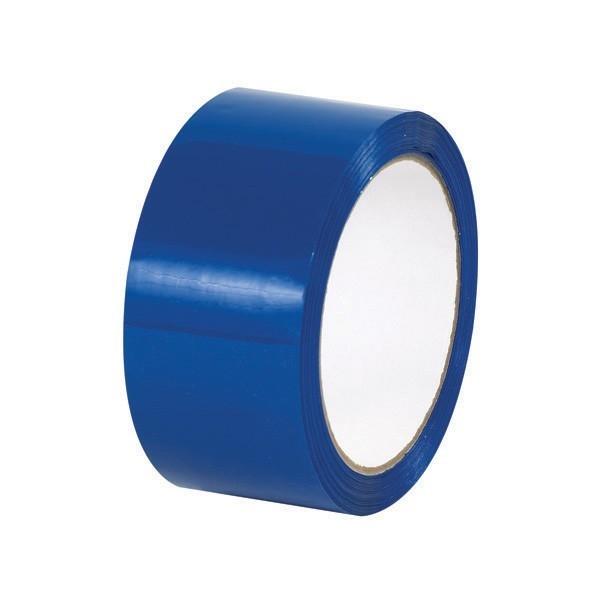 Taśma pakowa akrylowa - niebieska