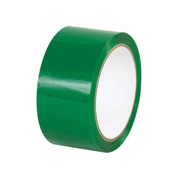 Taśma pakowa akrylowa - zielona