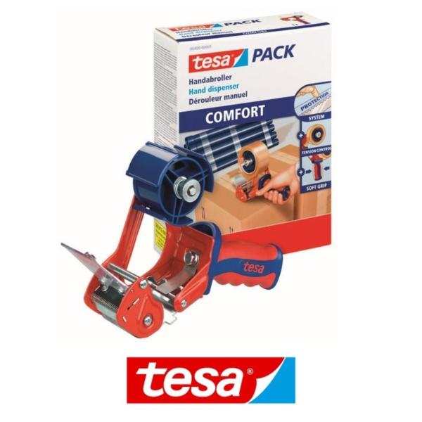 Dyspenser do taśm pakowych Tesa COMFORT 06400