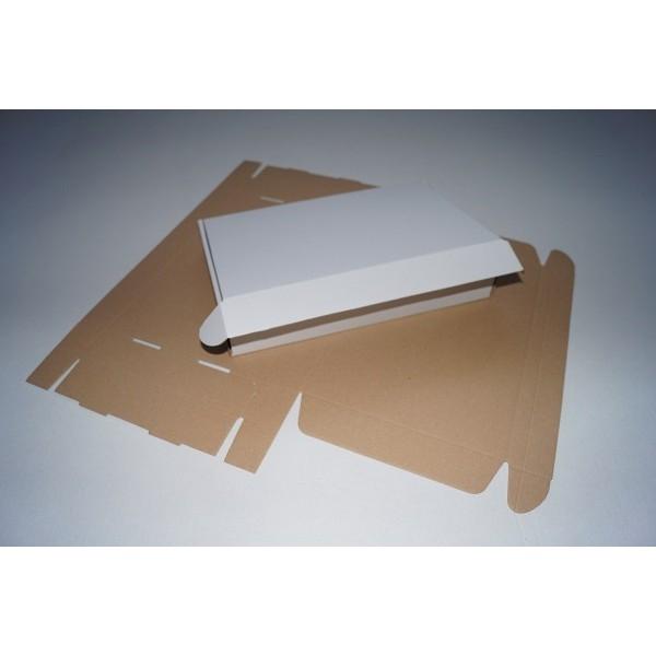 Opakowanie fasonowe 410 x 310 x 45 Biały