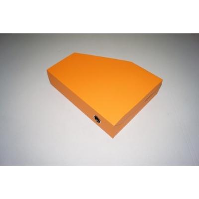 Opakowanie na segregator 225 x 70 x 310 pomarańcz