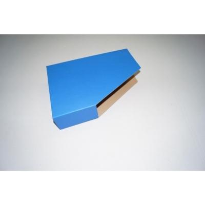 Opakowanie na segregator 225 x 70 x 310 niebieski